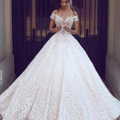 Pretty Ball Gowns Wedding Dresses,..