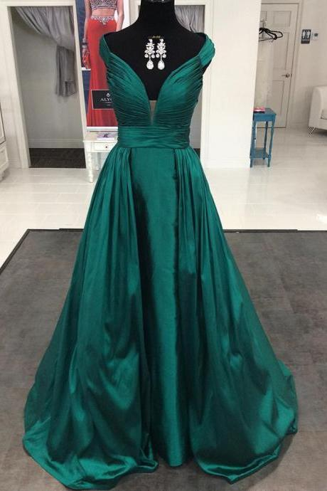 Dark Green Long Formal Evening Gowns, Burgundy Prom Dresses, Royal Blue Prom Dresses, Off the Shoulder Prom Dresses, Formal Woman Dress, 2017 Prom Dresses Elegant