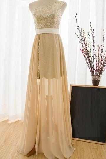 One Shoulder A-Line Prom Dress,Long Prom Dresses,Cheap Prom Dresses, Evening Dress Prom Gowns, Formal Women Dress,Prom Dress