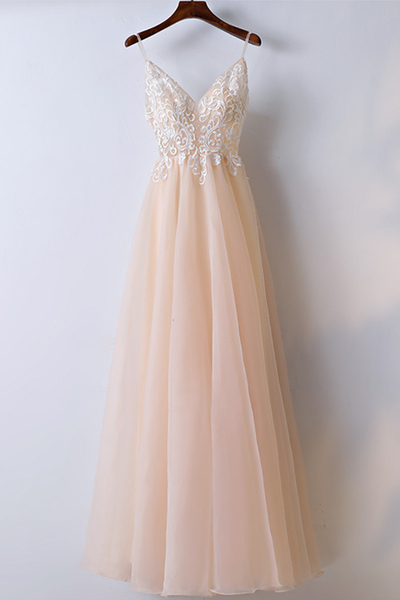 Charming Prom Dress, Sexy V Neck Prom Dress, Tulle Prom Dresses, Long Evening Dress, Homecoming Dress
