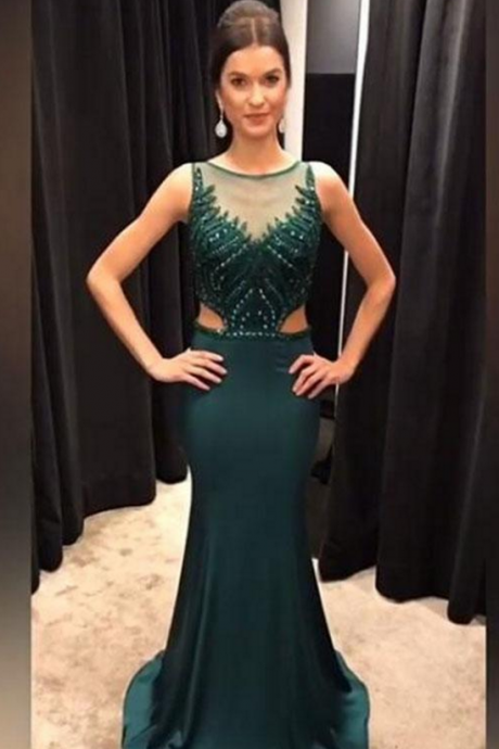 Charming Prom Dress, Long Prom Dresses, Sexy Mermaid Evening Dress,P1769