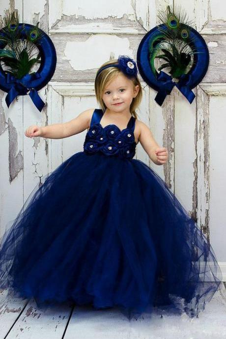 Lovely Cute Toddler Ball Gown Wedding Party Flower Girl Dresses,FG2267