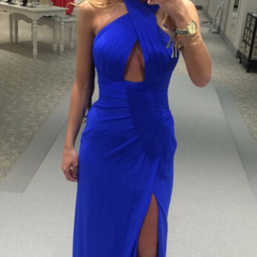 Prom Gown,Royal blue Prom Dresses,Evening Gowns,Formal Dresses,Royal blue Prom Dresses,P985